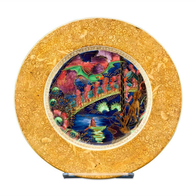 Wedgwood Fairyland Lustre Plate For Sale