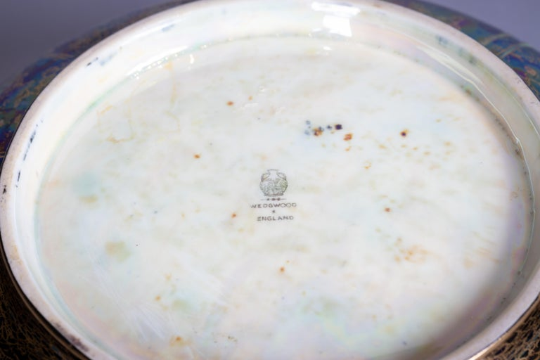 Wedgwood Fairyland Lustre 'Poplar Trees' Bowl, circa 1920 In Good Condition For Sale In New York, NY
