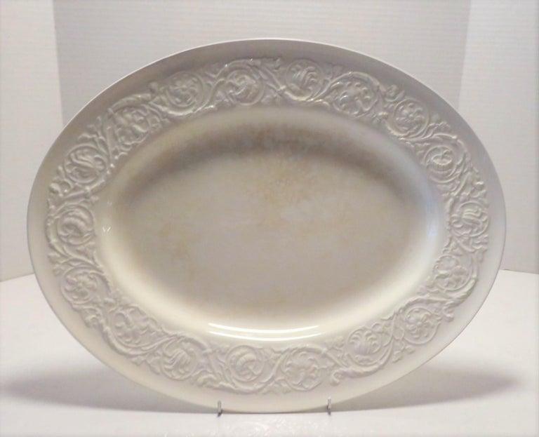 Wedgwood Fine Bone China Dinnerware Patrician Pattern England 165pcs For Sale 7