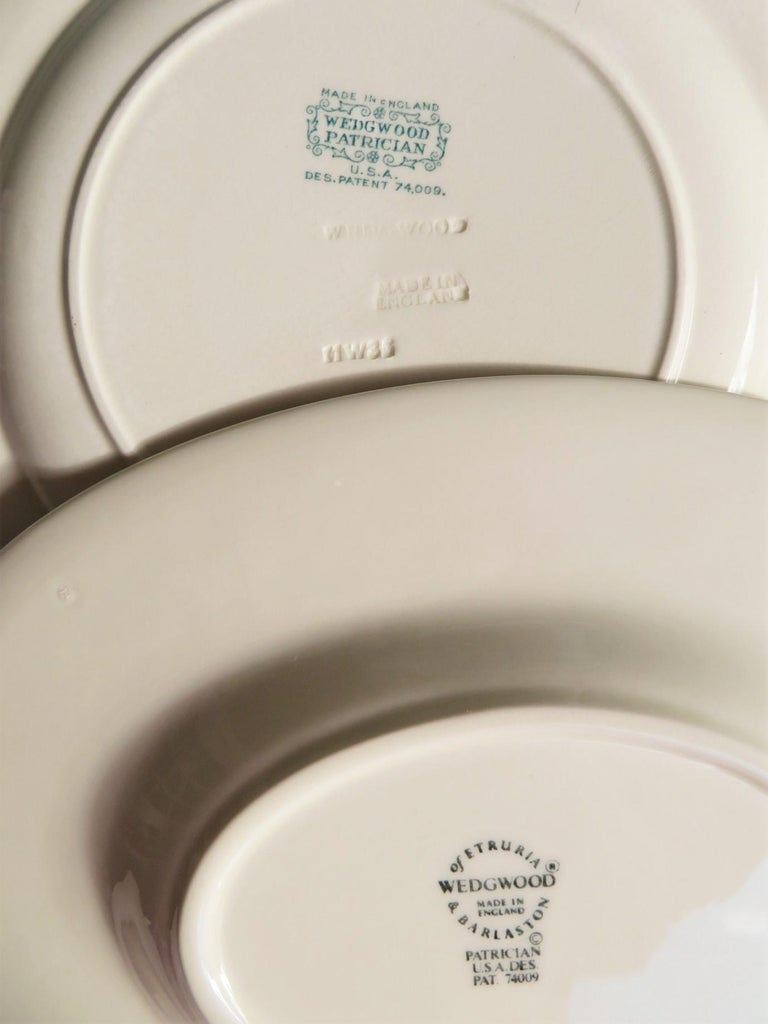 Wedgwood Fine Bone China Dinnerware Patrician Pattern England 165pcs For Sale 9