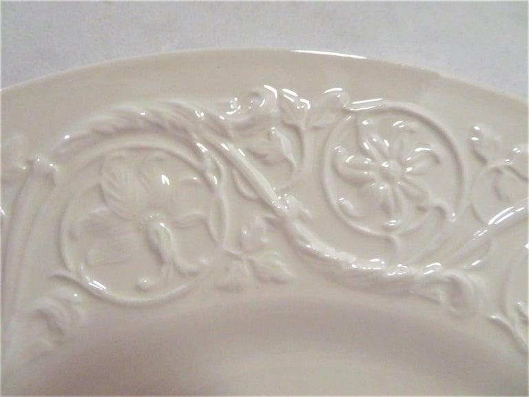 Wedgwood Fine Bone China Dinnerware Patrician Pattern England 165pcs For Sale 11