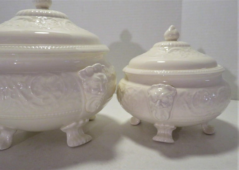 Wedgwood Fine Bone China Dinnerware Patrician Pattern England 165pcs For Sale 2