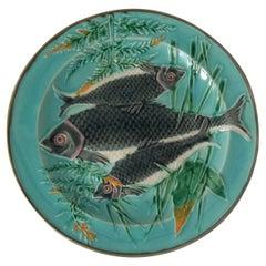 Wedgwood Majolica Fishes Plate