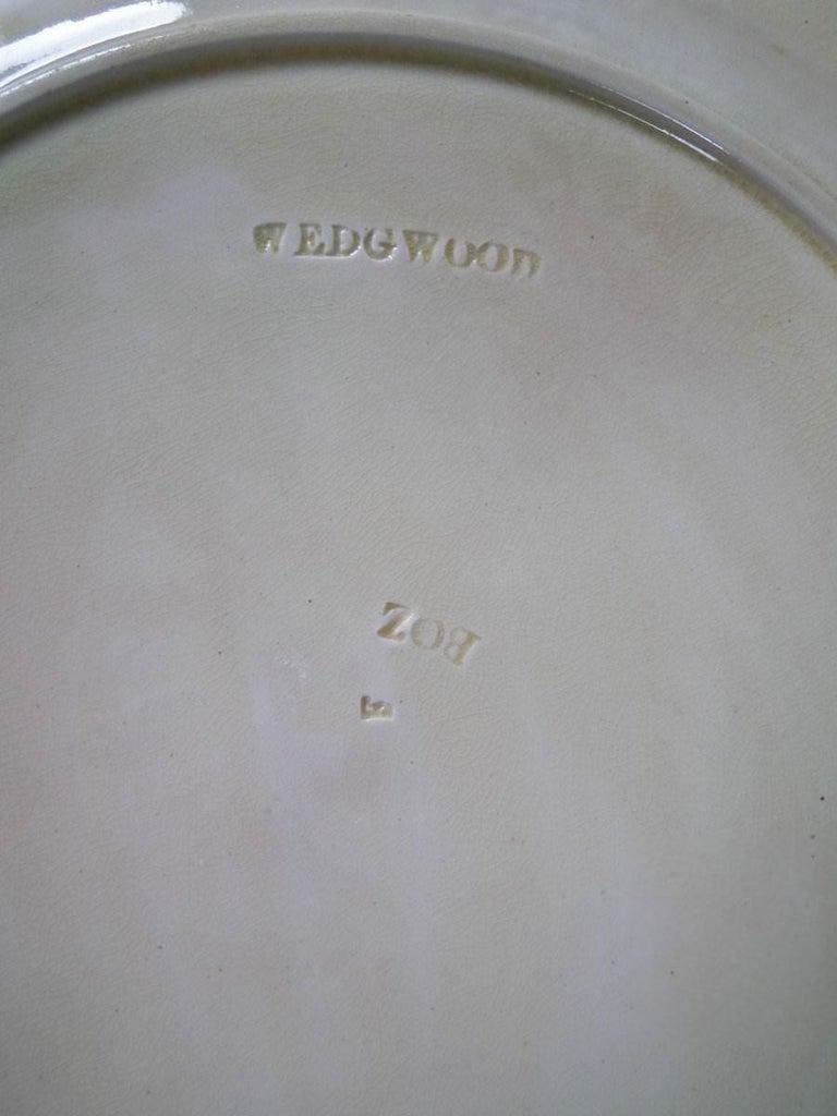 Wedgwood Majolica Heron Plate For Sale 2