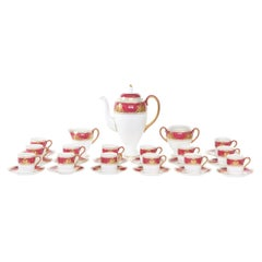 Wedgwood Porcelain Coffee Service for 14 People