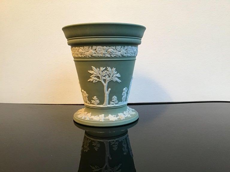 Art Deco Wedgwood Vase Ceramic 1930 United Kingdom For Sale