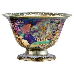 Wedgwood Woodland Bridge Fairyland Lustre Porcelain Bowl