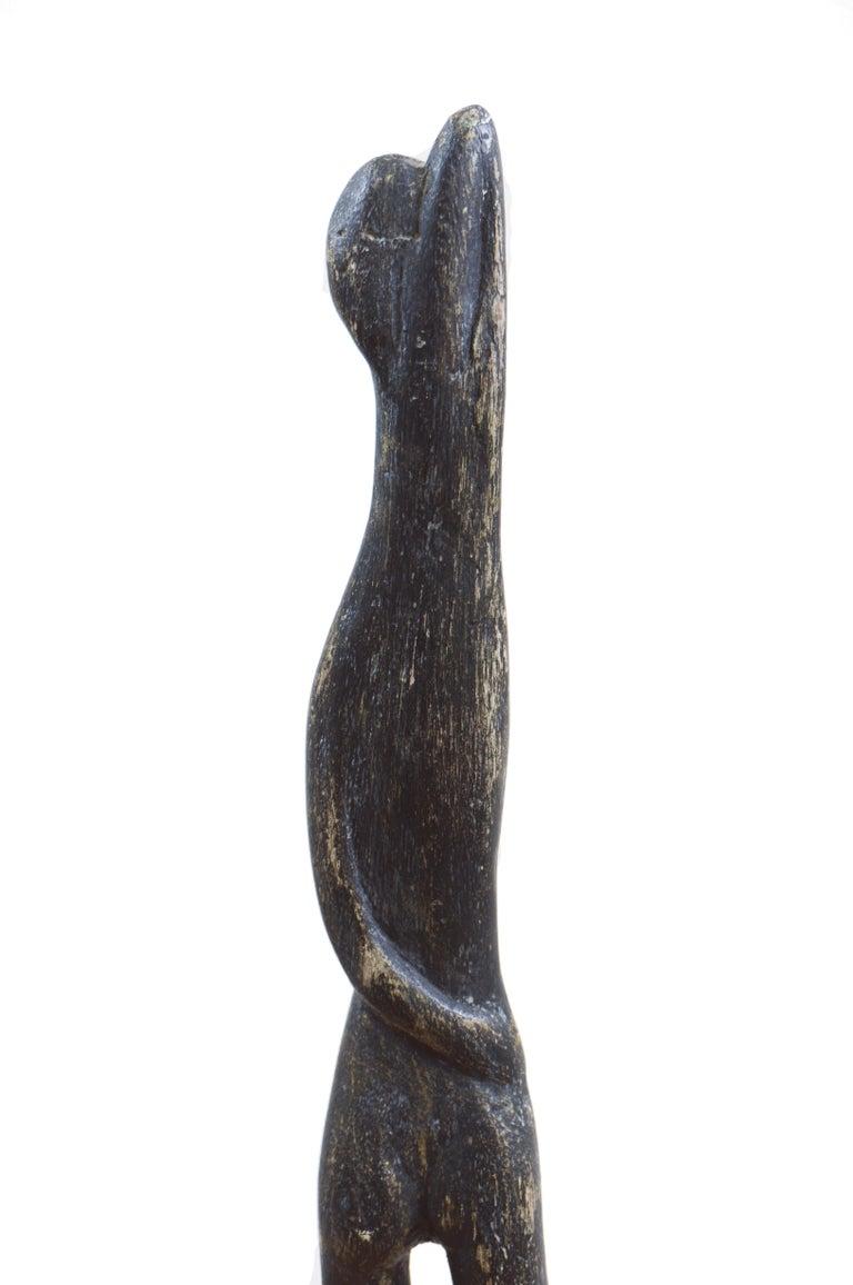 'Standing Woman', Modernist Sculpture, San Francisco Bay Area, de Young Museum For Sale 1