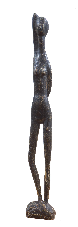 'Woman Standing', Modernist Sculpture, San Francisco Bay Area, de Young Museum