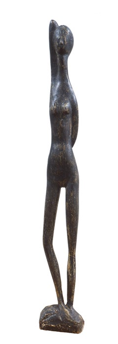 'Woman Standing', Modernist Sculpture, San Francisco Bay Area, de Young Museum