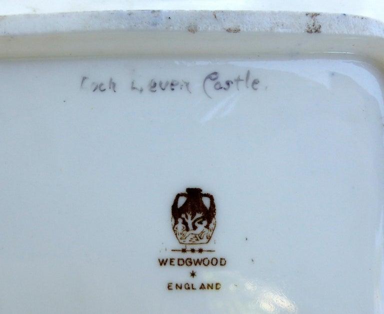 Wedgwood 'England' Hand Painted Cabinet Plates Depicting UK Landmarks, 3 For Sale 5