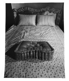 Bundling Bed and pillows, c.1950-60, by Weegee, gelatin silver print, stamped