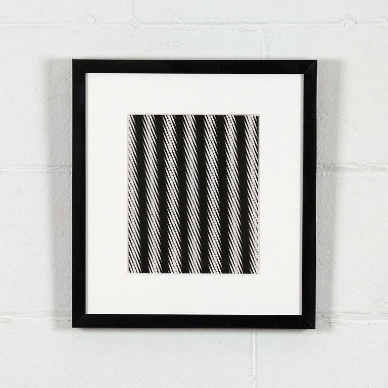 """Weegee """"Distortion: Stripes""""  - Photograph by Weegee"""