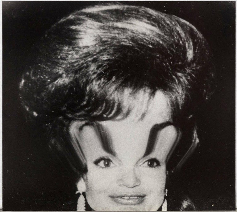 """Weegee """"Jackie Kennedy Distortion""""  - Photograph by Weegee"""