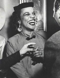 "Weegee ""Woman Laughing, Harlem"""