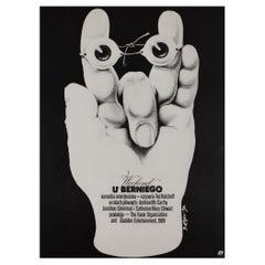 Weekend At Bernie's 1990 Polish Film Movie Poster, Jakub Erol