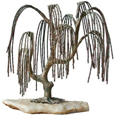 Weeping Willow Sculpture by Brian Bijan