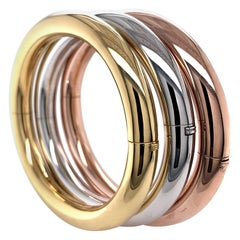 Weingrill Gold Trio of Bangle Bracelets