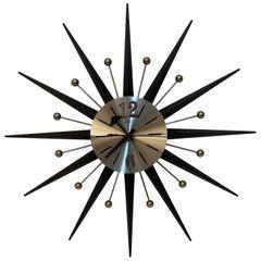 Welby Sunburst Wall Clock