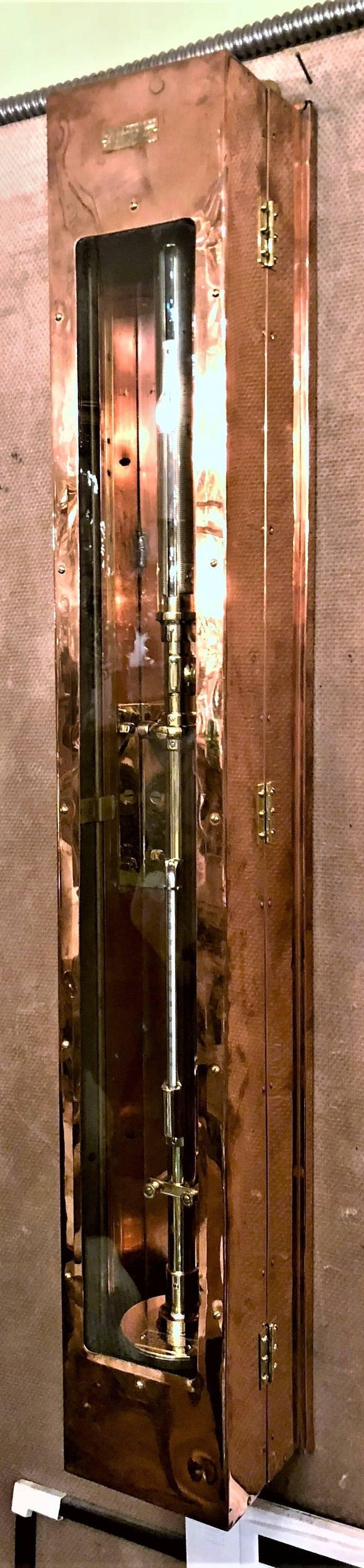 Welch Fixed Cistern Marine Barometer, circa 1942 In Excellent Condition For Sale In New Orleans, LA