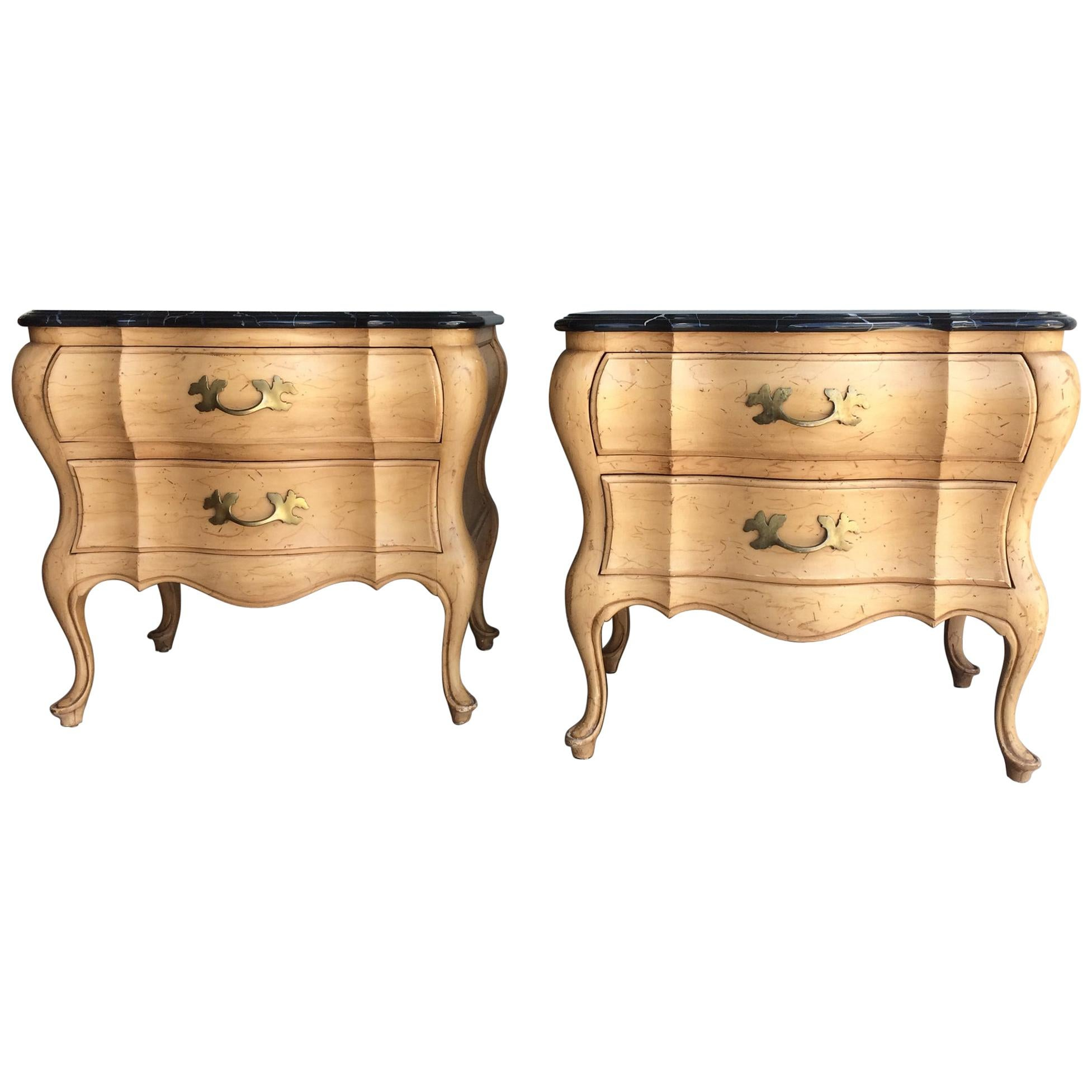 timeless design f10b9 1e4d0 Well Made French Country Style Night Stands.