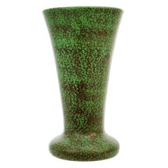 Weller Art Deco Coppertone Monumental Glaze Vase