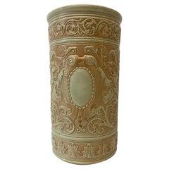 Weller Pottery Umbrella / Cane Stand, C.1930