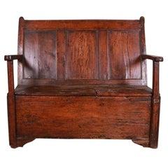 Welsh Box Settle/Bench