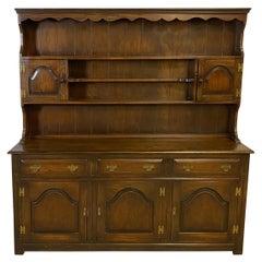Welsh Dresser, English Oak, Traditional
