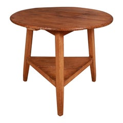 Welsh Pine Cricket Table/ Lamp Table