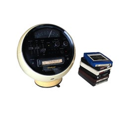 Weltron Model 2001 Space Ball, AM/FM Radio 8 Track Stereo