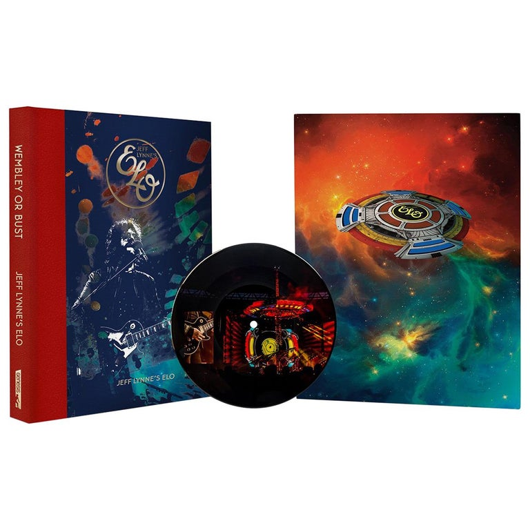 """""""Wembley Or Bust"""" by Jeff Lynne's ELO –The Signed, Limited Edition Book For Sale"""