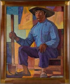 Mid Century Post-War American Modernist Figure - Japanese/American Manzanar