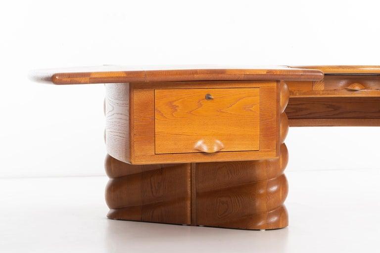 Wendell Castle Monumental Desk For Sale 4
