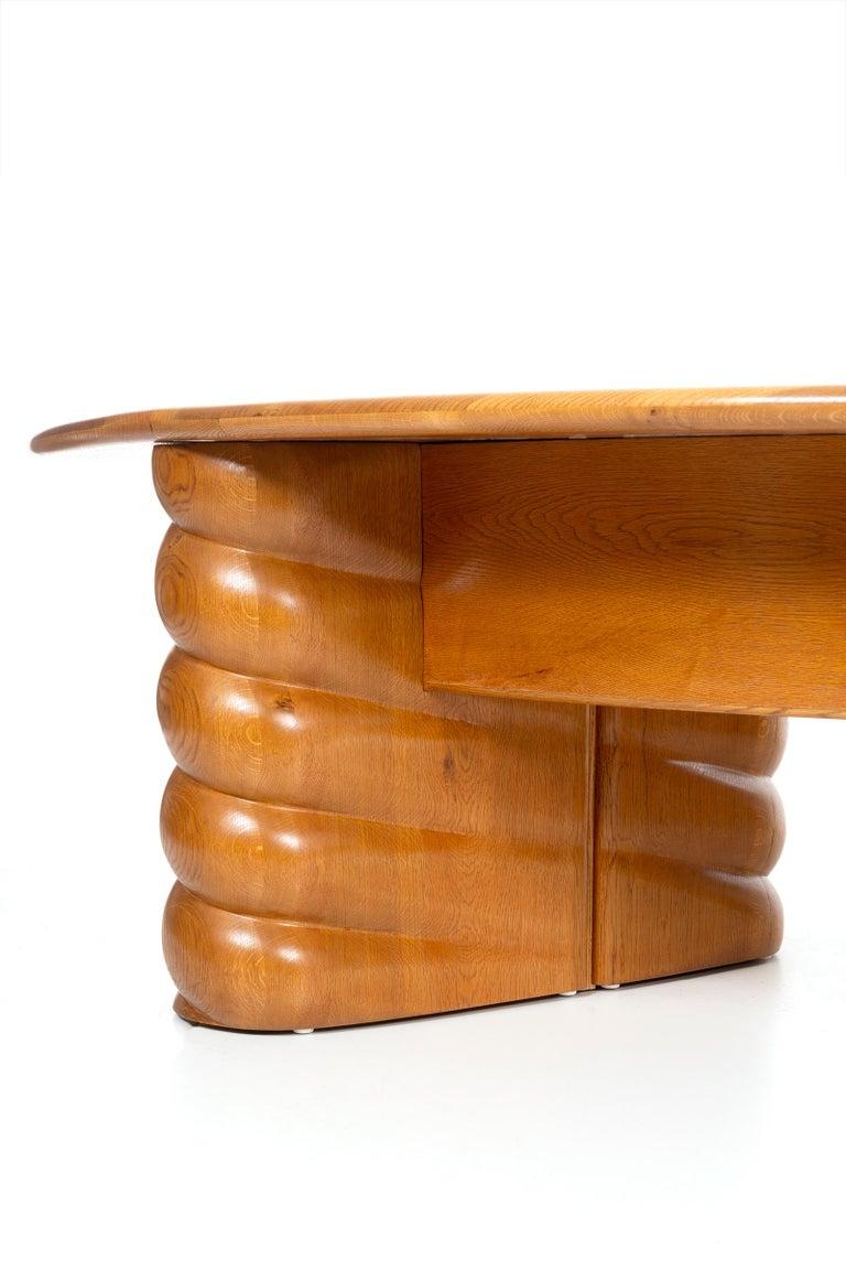 American Wendell Castle Monumental Desk For Sale