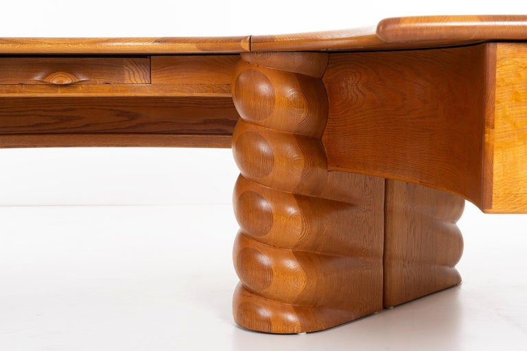 Late 20th Century Wendell Castle Monumental Desk For Sale