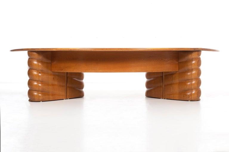 Wendell Castle Monumental Desk For Sale 1