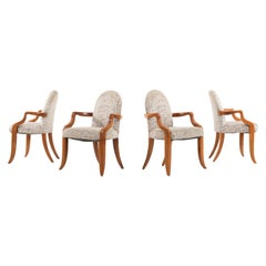 Wendell Castle Pull Up Armchairs