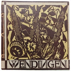 Wendingen, Issue 5, Cover by Josef Cantré, 1920