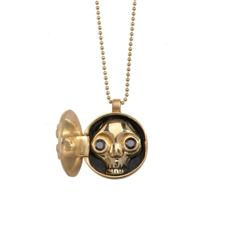 Wendy has always been inspired by skulls, as artists have been for centuries. Skull jewelry is known by the Latin phrase