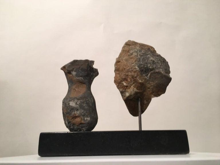 American Wendy Hendelman Alabaster Head and Torso Sculpture, 2015 For Sale