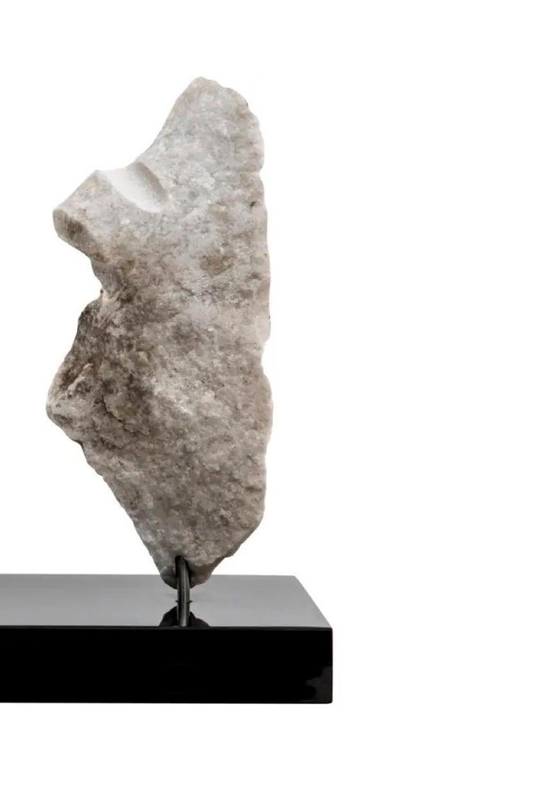 American Wendy Hendelman Marble Head and Torso Sculpture, 2020 For Sale