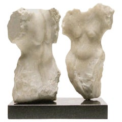 Wendy Hendelman Marble Torsos Sculpture, 2001
