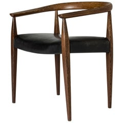 Wenge Armchair by Nanna Ditzel