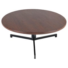 Wengé Mid-Century Modern Coffee Table by Martin Visser for 't Spectrum