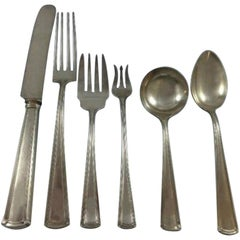 Wentworth by Watson Sterling Silver Flatware Set for 12 Service 79 Pieces