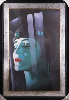 Metropolis-Framed Print