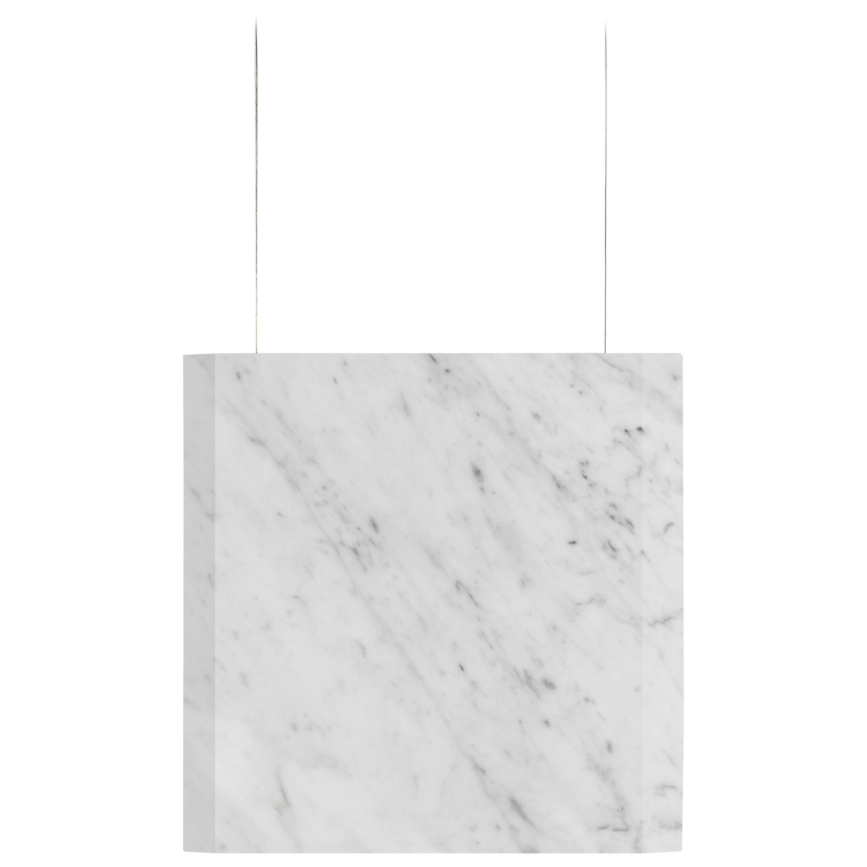 "Carrara Marble Ceiling lamp ""Werner Sr."" In Stock"