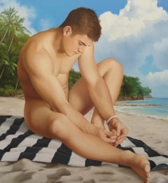 "Wes Hempel, PRIVATE ISLAND SERIES, ""Mid Day Swim"""
