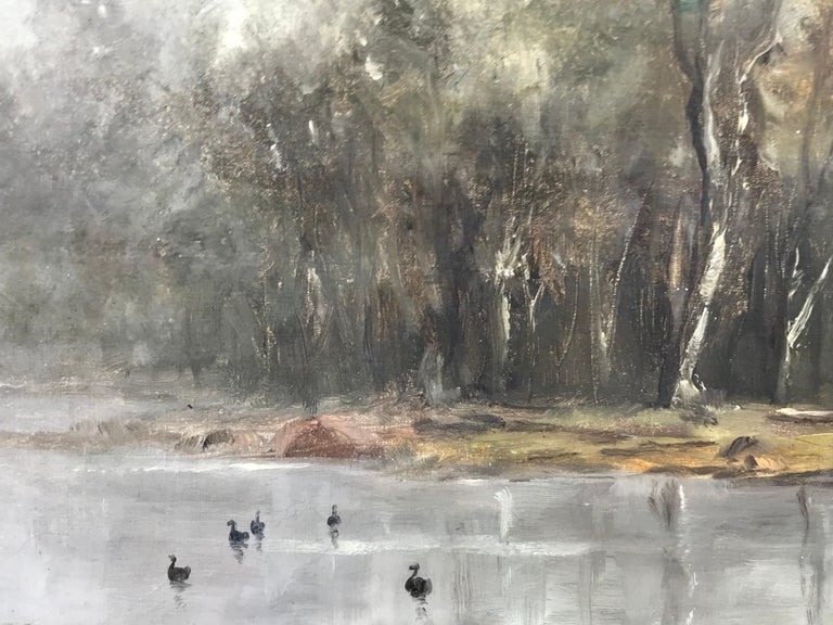 """Misty Morning"" - Painting by Wesley Webber"